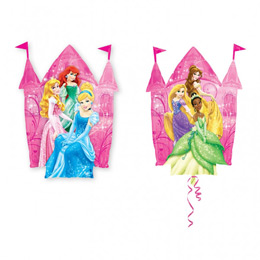 Hercegnők - Princess Castle Super Shape Fólia Lufi
