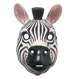 Zebra Álarc