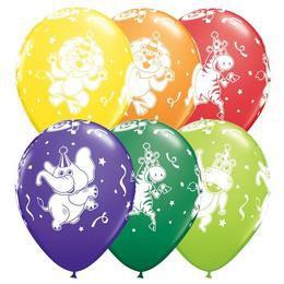 11 inch-es Parti Állatok - Party Animals Lufi (25 db/csomag)