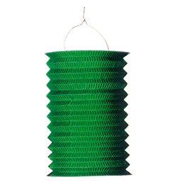 Zöld Hengeres Lampion