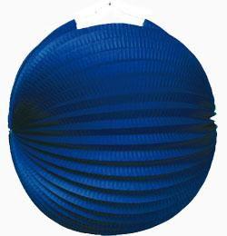 Kék Gömb Lampion - 25 cm