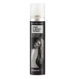 Test Spray És Hajspray - Ezüst Glitteres