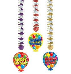 Lufis Happy Birthday Szülinapi Függő Dekoráció