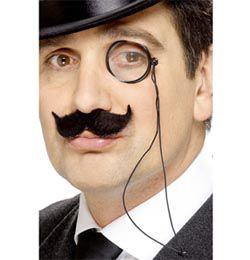 Klasszikus angol monokli szemüveg - angol úriember jelmez kiegészítő