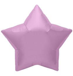 9 inch-es Lilac Star - Orgona Lila Csillag Fólia Lufi (5 db/csomag)