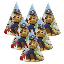 Paw Patrol Mancs Őrjárat Lets Roll Parti Kalap - 6 db-os