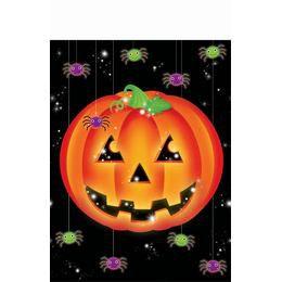 Sütőtökös  Asztalterítő Halloweenre
