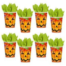 Tök Mintás Halloween Parti Pohár