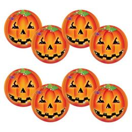 Tök Mintás Halloween Parti Tányér