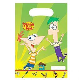 Phineas and Ferb Parti Ajándékzacskó
