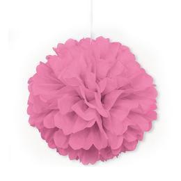 Pink Bolyhos Függő Dekoráció - 41 cm