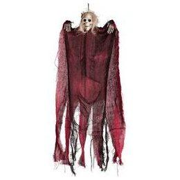 Piros Csontváz Szellem Dekoráció, 60 cm-es
