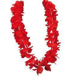 Piros Hawaii Parti Nyakfüzér