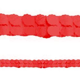 Piros Papír Füzér - 3,6 m