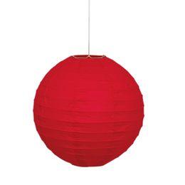 Piros Színű Parti Lampion - 25 cm-es