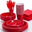 Piros Asztalteríték