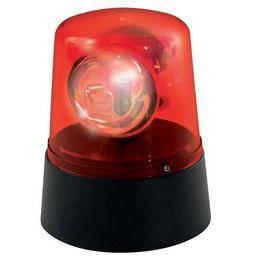 Piros Rendőrautó Parti Lámpa