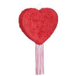 Piros Szív Pinata