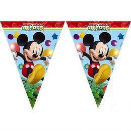 Playful Mickey Parti Zászlófüzér - 230 cm