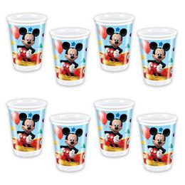 Mikiegér Playful Mickey Pohár, 200 ml, 8 db
