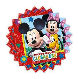 Mikiegér Playful Mickey Parti Szalvéta - 33 cm x 33 cm, 20 db-os