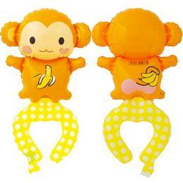 Playful Monkey - Majom Levegős Lufi Karkötő