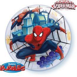 22 inch-es Marvel's Bubbles Ultimate Spiderman - Pókember Héliumos Lufi