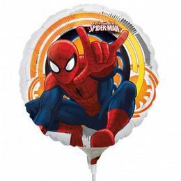 9 inch-es Spiderman Ultimate - Pókember Fólia Lufi Pálcán
