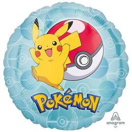 Pokemon - Pikachu Héliumos Fólia Lufi, 46 cm