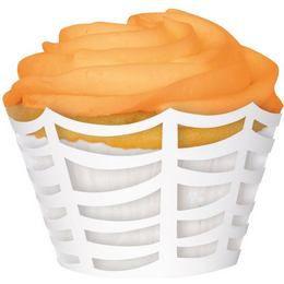 Pókháló Mintás Muffin Tartó Forma - 12 db-os