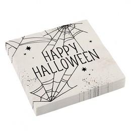 Pókháló Mintás Parti Szalvéta Halloween-ra
