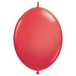 6 inch-es Red Quick Link (Standard) Lufi (50 db/csomag)