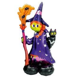 Rémisztő Boszi Levegős Lufi Halloweenre