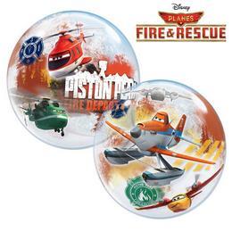 22 inch-es Disney Planes Fire & Rescue Bubbles Héliumos Lufi