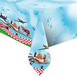 Planes - Repcsik Parti Asztalterítő - 180 cm x 120 cm