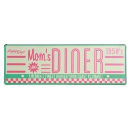Retro Fém Tábla, Fekvő - Mom's Dinner