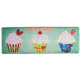 Retro Fém Tábla, Fekvő - Cupcake