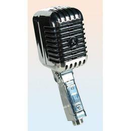 Retro Mikrofon Zuhanyfej