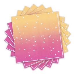 Rose Gold Ombre Színű Parti Szalvéta - 33 cm x 33 cm