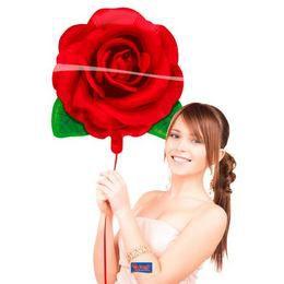 Rózsa Fólia Lufi, 56 cm