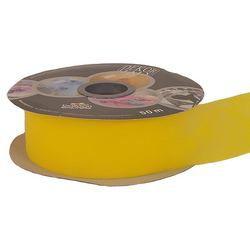 Sárga Dekorációs Szalag, 5 cm, 50 méteres