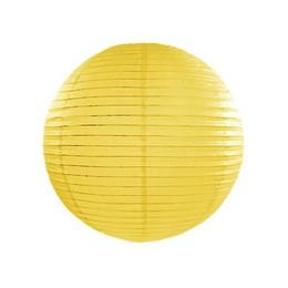 Sárga Gömb Lampion