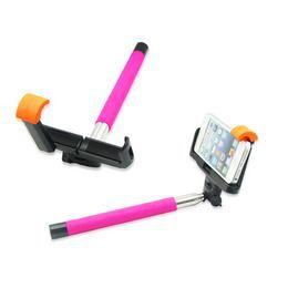 Selfie Stick - Bluetooth Rózsaszin
