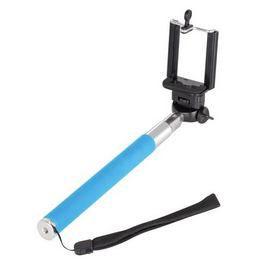 Selfie Stick - Bluetooth Világos Kék