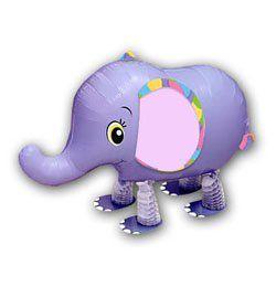 Sétáló Elefánt Héliumos Lufi
