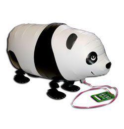Sétáló Panda Héliumos Lufi