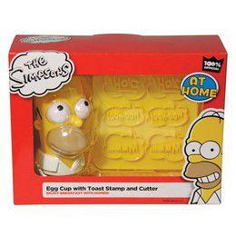 Simpsons Reggeli
