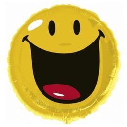 Smiley Mosoly fólia Lufi