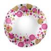 17 inch-es Rózsaszín Pasztell Konfettis Feliratozható Fólia Lufi