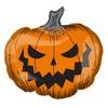 Ijesztő Tök Super Shape Fólia Lufi Halloween-re